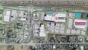 Hamilton Crossings plan. Target and Costco could be anchors