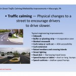 Macungie Traffic Calming