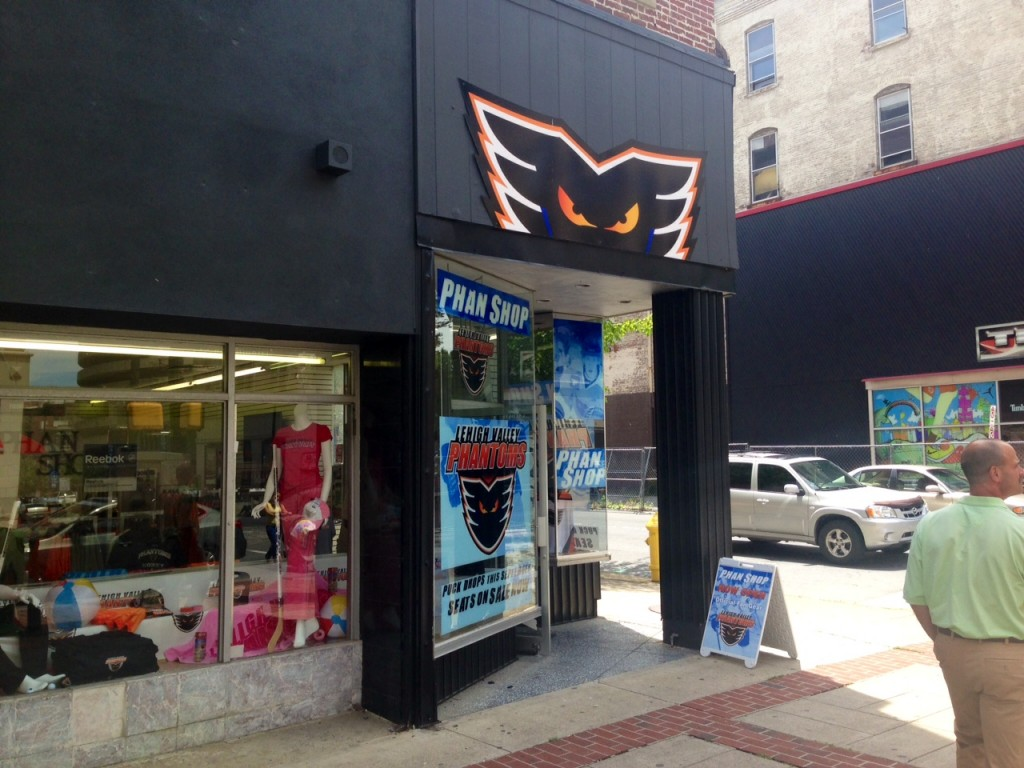 The Phantoms are coming! New storefront selling all your phantom gear.