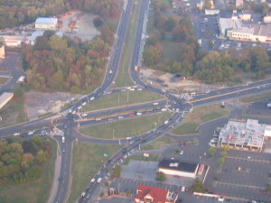 Marlton Circle: Traffic Circles are massive high speed mechanisms employed on arterials or interchanges.