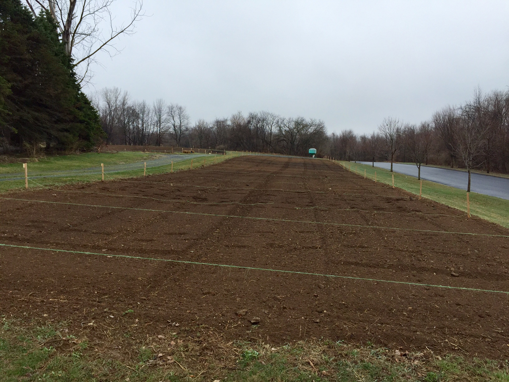 Kratzer Farm garden plots (off Bogie Ave) are tilled and ready for Spring veggies!