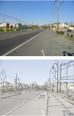 Capture Value. The Boulevard is the key to the townships long term fiscal resiliency.